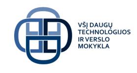 Logo of Daugų technologijos ir verslo mokyklos VMA